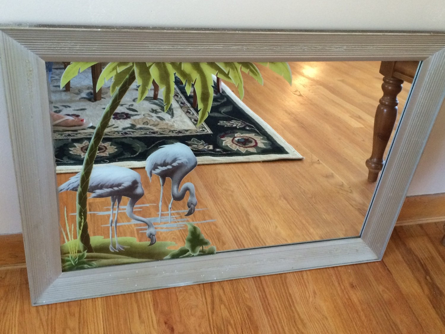 1950s Turner Flamingo Mirror By Lilacowlsattic On Etsy