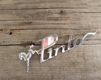 Genuine Pinto Car Emblem