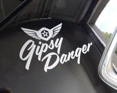 Pacific Rim - Gipsy Danger Logo - Vinyl Decal - Multiple Colors