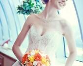 Princess Sweetheart Wedding Dresses. Ball Gown Wedding Dress. Fluffy Wedding Dress. Free shipping.