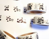 Kawaii Panda Washi Tape