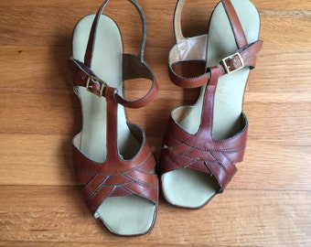 Vintage Penalijo Sandals, size 7.5