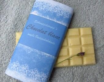 "Bath chocolate ""Chocolat blanc"""