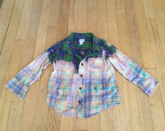 Kids Bleached Flannel