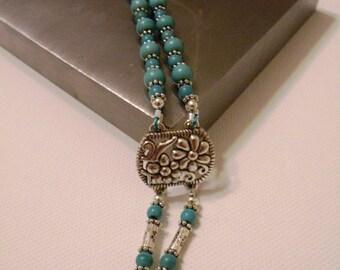 Turquoise 2 Strand Bracelet