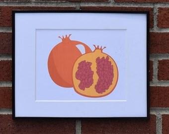 Pomegranate Fruit - Instant Downloadable Digital Print