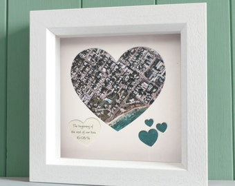 Personalized Map Heart