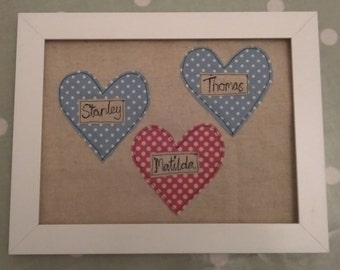 Personalised children's names picture