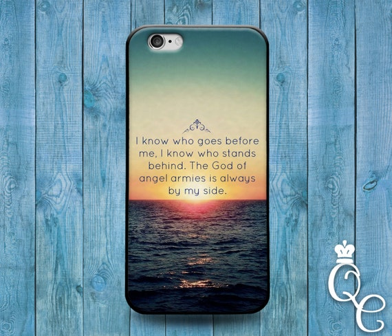 iPhone 4 4s 5 5s 5c SE 6 6s 7 plus iPod Touch 4th 5th 6th Gen Cool Bible Verse Christian Book Quote Cover Cute Ocean Fun Sunset Word Case