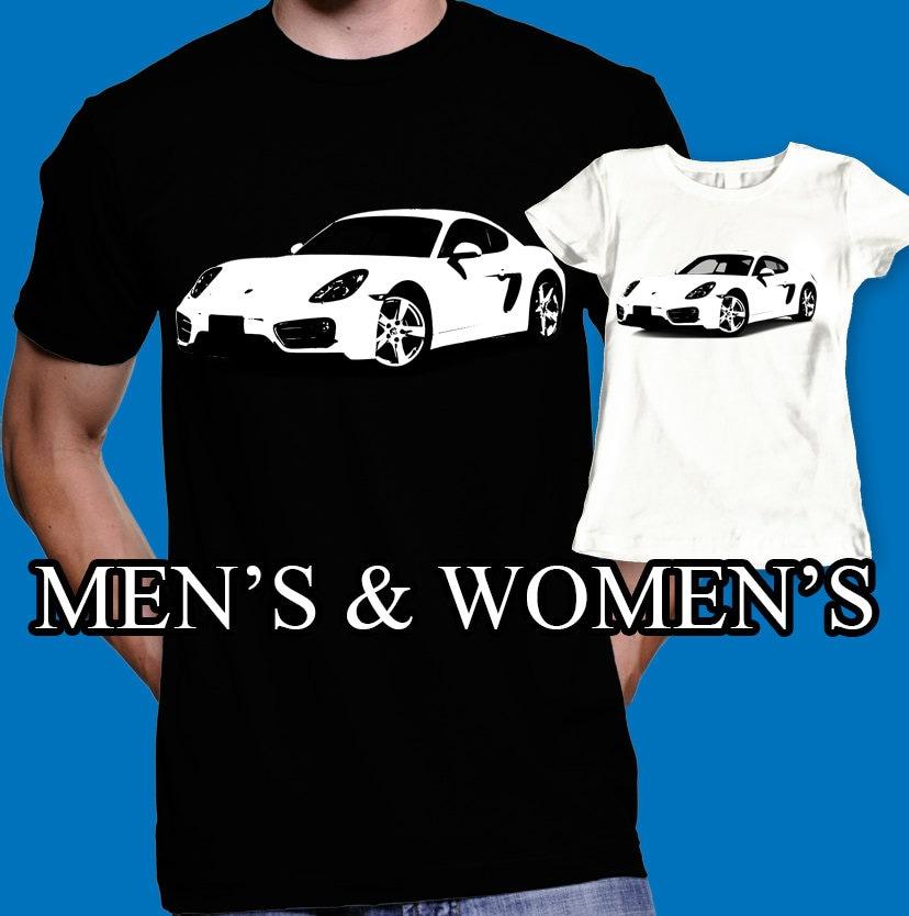 porsche shirt porsche cayman t shirt car auto by viliusprints. Black Bedroom Furniture Sets. Home Design Ideas