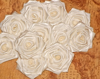 Ivory flowers silk ivory rose ivory wedding fabric flowers wedding photo props flower decorations decorative flower holiday  shabby flower