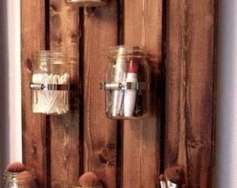 Southern style jar shelf