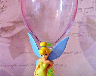 Disney Tinkerbell Wine Glass