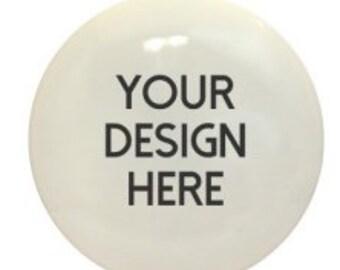 Custom Designed Disc Golf Disc