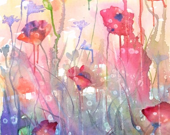 Field of Poppies - SOLD