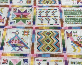 Central America (Needlework) Sampler