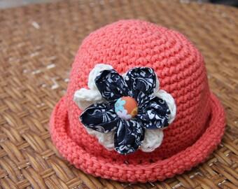 Handmade Crochet Girl Hat