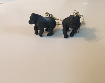 Gorilla Earrings