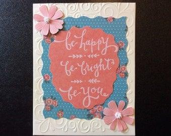 Homemade Card - Encouragement