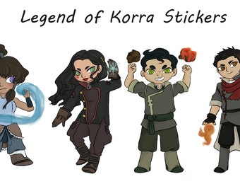 Legend of Korra Stickers