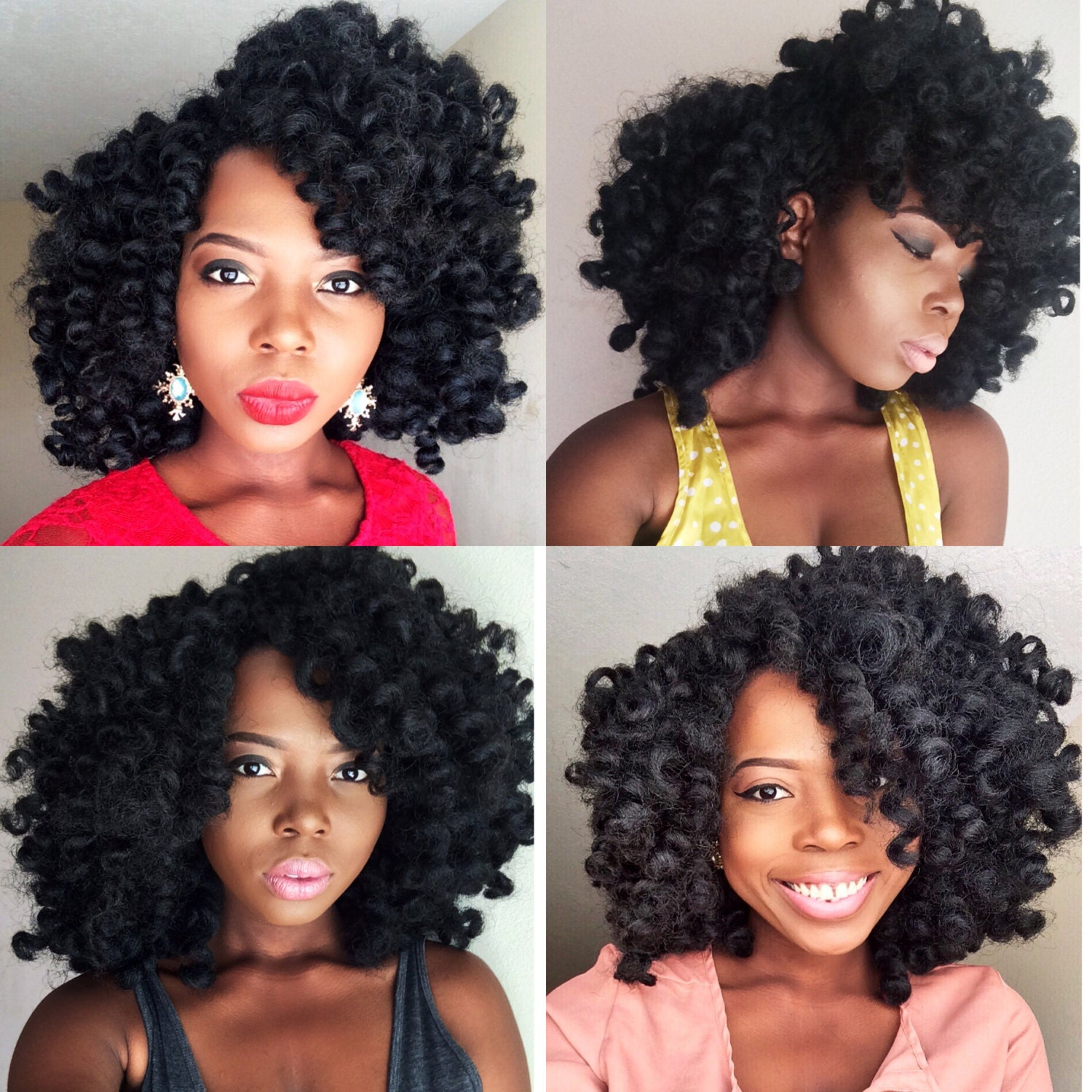 Crochet Braids Sale : Sale Priced Handmade Custom Curly Crochet Braid by Lolasterhair