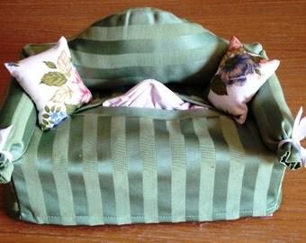 Sofa tissue boxes