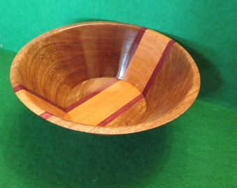 Hand crafted nut bowl