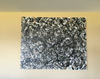 Abstract Original Contemporary Modern Painting 60 in x 48 in x 1.5 in