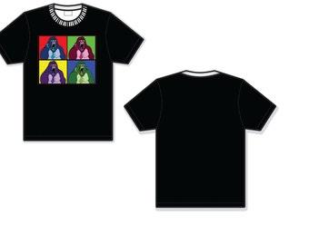 Donkey Kong Warhol inspired shirt Square XL