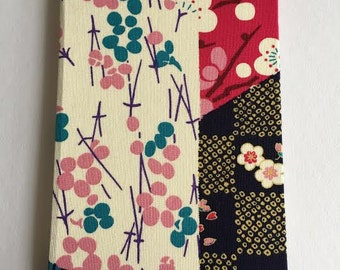 A6 style hard-cover notebook