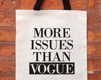 Vogue Tote Bag, Cute Tote Bag, Women's Tote Bag, Cute Tote Bag, Gift Idea For Her, Best Friend Gift Idea, Sister Gift Idea