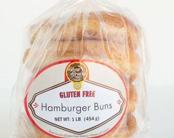 Gluten Free / Vegan Friendly Hamburger Buns