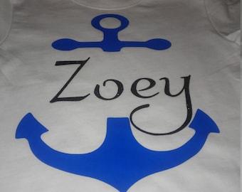 kids anchor shirt