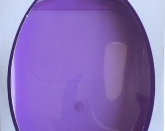 DOVECRAFT CRAFTERS Tidy Tray light purple - powders, beads, glitters, sand etc