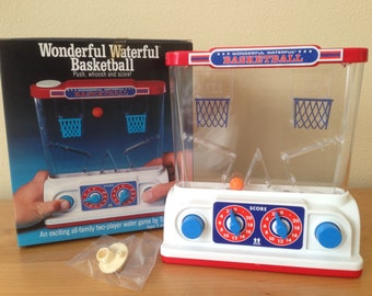 Wonderful Waterful Basketball Toss Game by Tomy from 70's