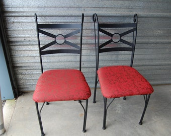 Metal Indoor or Outdoor Chairs
