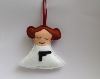 Star Wars inspired Princess Leia decoration