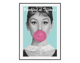 Breakfast at Tiffany's Printable Poster