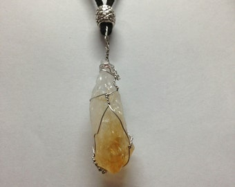 Citrine Point Amulet MWCCPA001