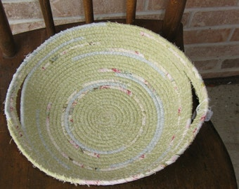 Wrapped Rope Basket