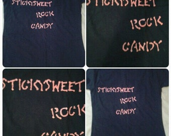 Sticky Sweet Rock Candy t-shirt