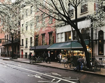 springtime in the west village - photograph - print - New York