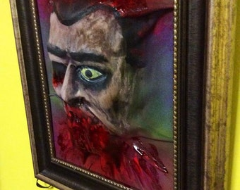 3d Wall Zombie