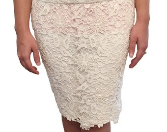 LALIY Womens Lace Skirt