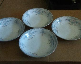 "4 Narumi china""phoebe"" desert bowls"