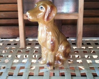 Dog Figurine Kitschy Style Collectible