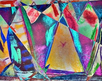 KANDINSKY-Remake  -  abstract digital artwork