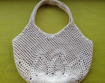 Crochet Bag / Vintage Bag