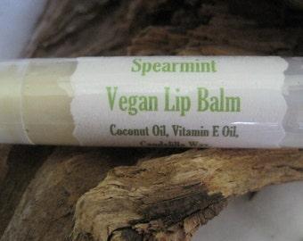 Spearmint Vegan Lip Balm