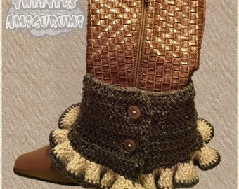 Steampunk Boot Covers / Spats (2)